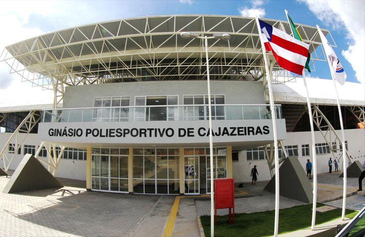 Ginásio Poliesportivo de Cajazeiras. Foto Manu Dias