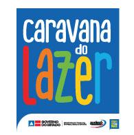 Logo da Caravana do Lazer