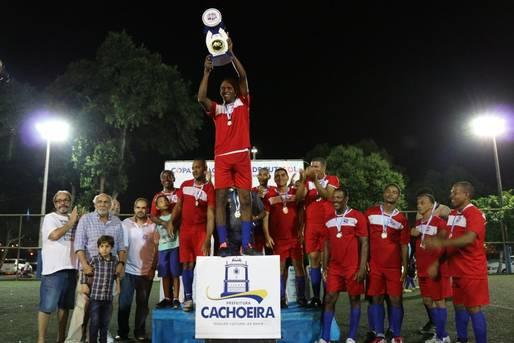 Seleção de Cachoeira é campeã da Copa Juracy Rocha de Fut 7