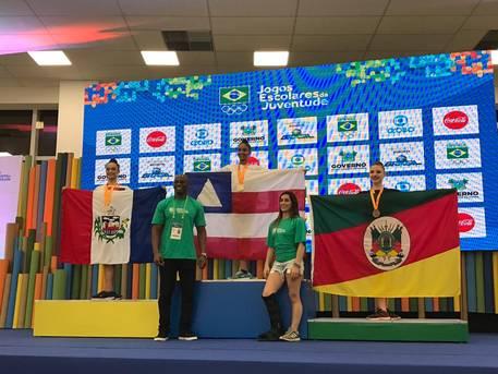 GR da Bahia é ouro na etapa nacional dos Jogos Escolares da Juventude