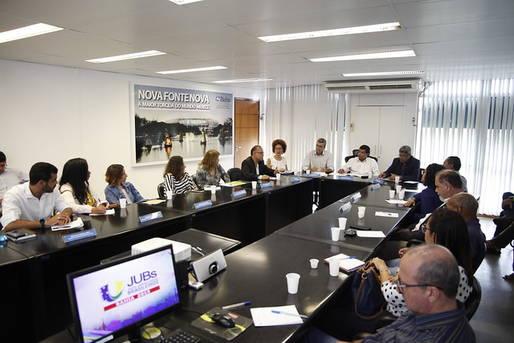 Reunião com representantes de Universidades públicas
