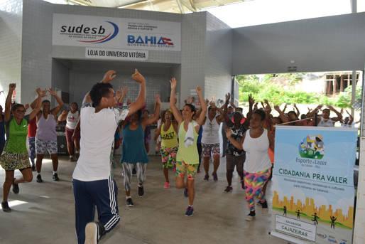 Festival coletivo do Pelc vai oferecer aulas gratuitas de esporte e lazer neste sábado, em Cajazeiras
