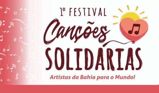 Card anunciando festival de música