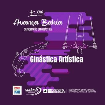 Avança Bahia – inscrições para ginástica artística seguem até esta quinta, 17