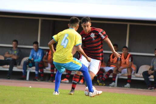 Copa 2 de Julho/2019, jogo entre equipes Santarém (PA) e Flamengo (RJ)