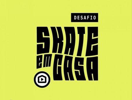 Desafio Skate em Casa abre inscrições para atletas da Bahia