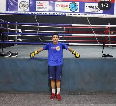 O pugilista Hebert Bandeira é convocado pela Confederação Brasileira de Boxe para a equipe juvenil do Brasil
