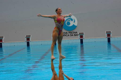CPJ e piscina da Bahia vivem dias intensos com as sele��es ol�mpicas