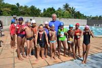 Alunos das Escolinhas de Esporte da Sudesb participam do Festival de Natação