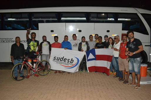 Seleção baiana de ciclismo viaja para São Luís com apoio da Sudesb